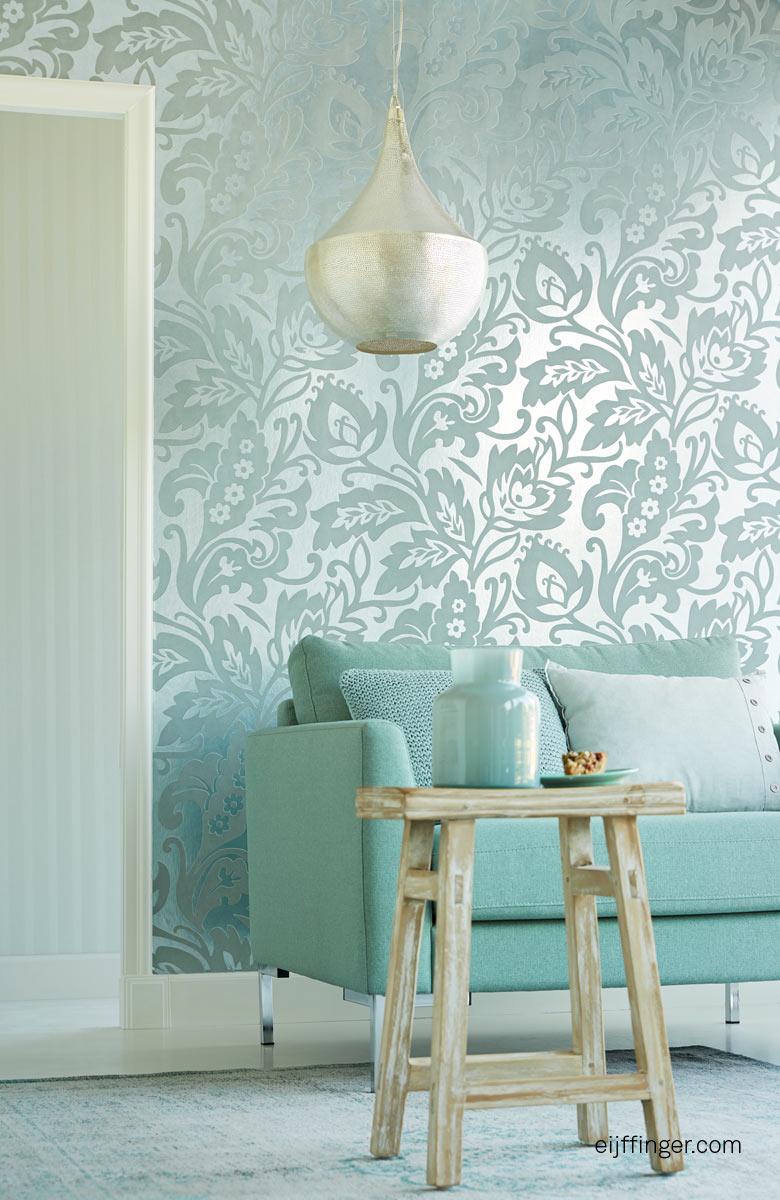 Behang Pastel Groen.Behang L S Trend